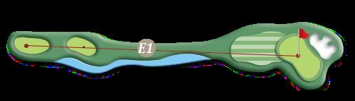 hill course Hole E1