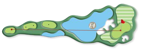 Hill course hole e4