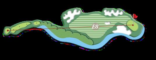 Hill course hole e8