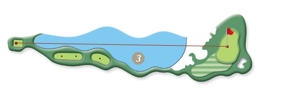 RIVER COURSE hole 3