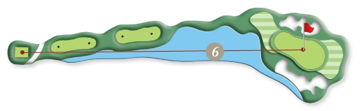 RIVER COURSE hole 6