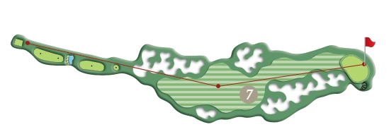 RIVER COURSE hole 7