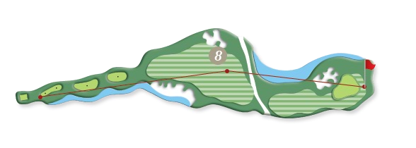 RIVER COURSE hole 8