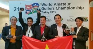 World Amateur Golfers Championship 2015
